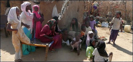Young Eritreans at the Shagarab camp in Sudan