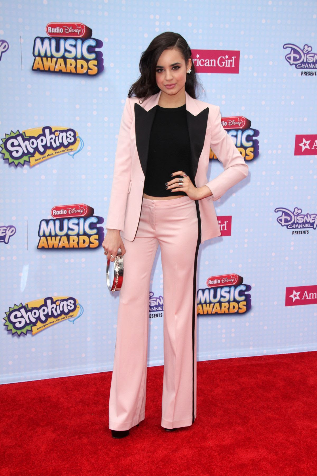 SOFIA CARSON at 2015 Radio Disney Music Awards in Los Angeles