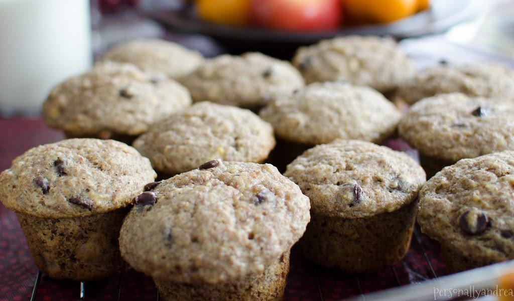 Flax Banana Muffins - personallyandrea.com