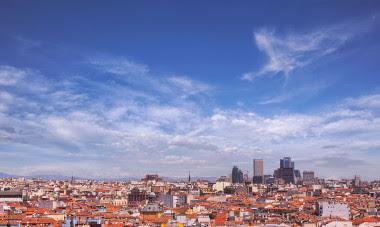 <p>Panorámica de la ciudad de Madrid. / UC3M</p>