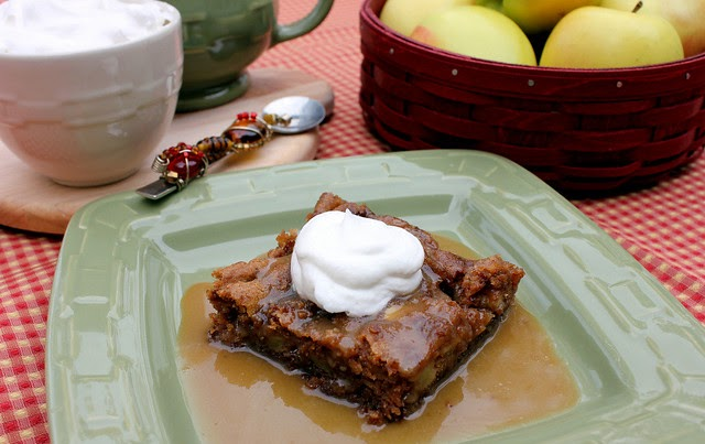 Food Network Recipes Apple Cake With Caramel Sauce