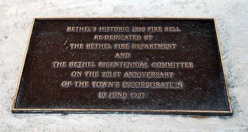 Bethel Bell Plaque