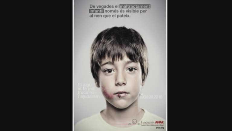La violencia contra los niños ha aumentado en España en el último año más de un 13 por ciento