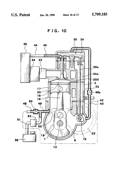 Patent US5709185 - Lubricating system for four-stroke
