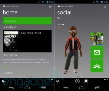 Xbox SmartGlass for Android updated with official 7inch tablet support