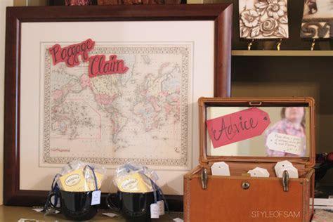 Travel Themed Wedding Shower   Style of Sam   DFW Fashion Blog