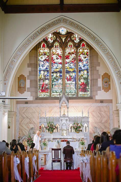 Le Montage Wedding   St Thomas Becket Catholic Church