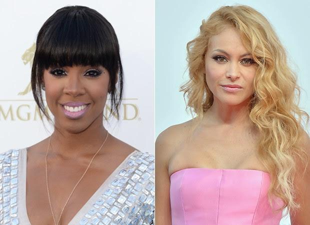Kelly Rowland e  Paulina Rubio  (Foto: Getty Images)