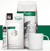 Starbucks tribute blend