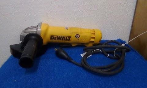 DEWALT DWE402 Paddle Switch Angle Grinder