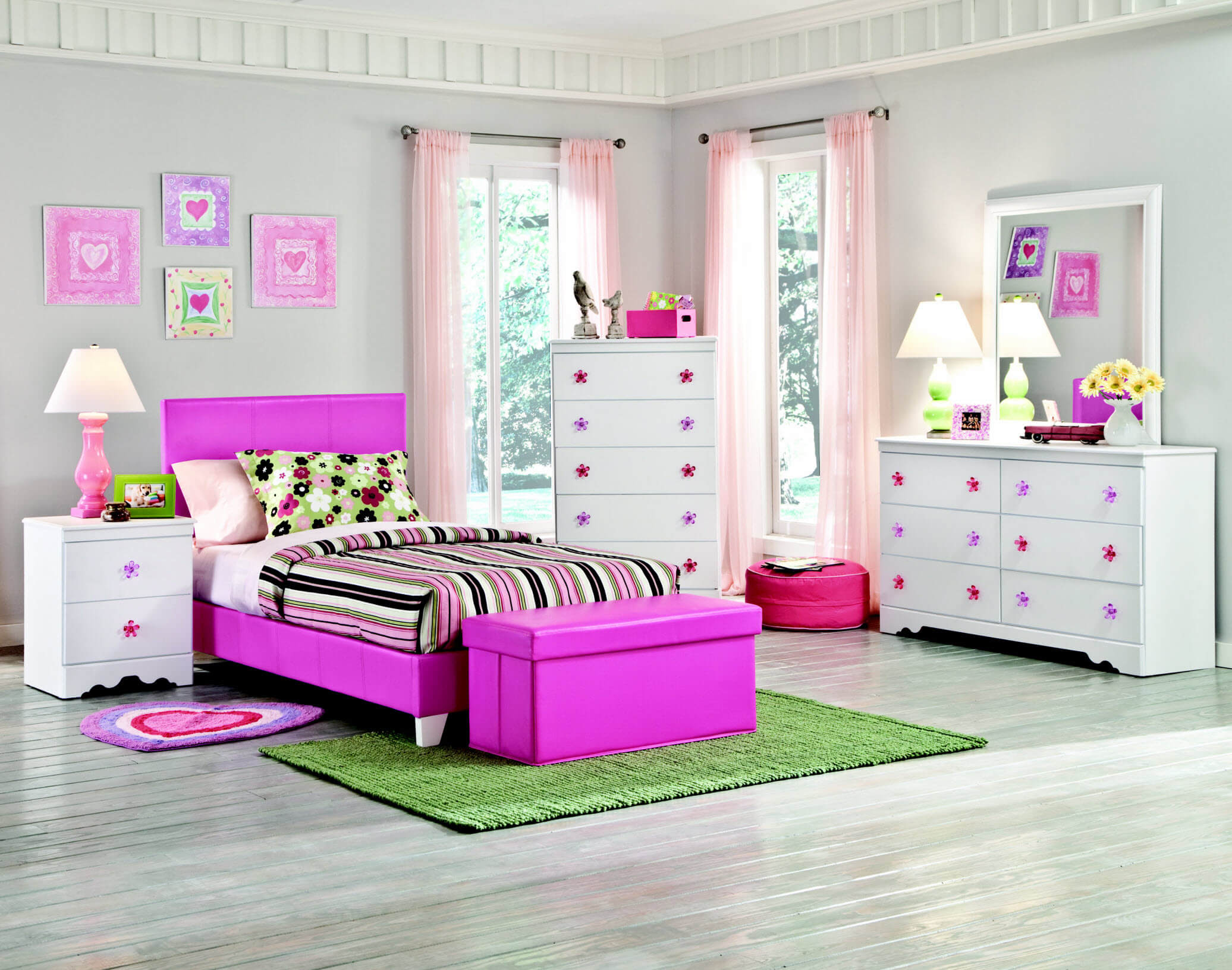1010+ Girl Bedroom Sets Pink New HD
