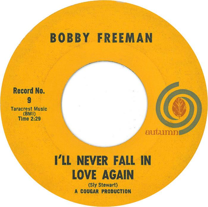 45cat Bobby Freeman Ill Never Fall In Love Again Friends