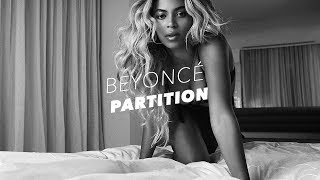 Beyonce Songs Partition