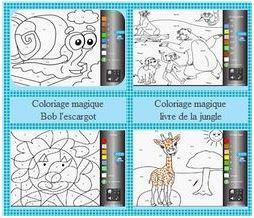Coloriage En Ligne Educatif.Les Plus Recherches Logiciel Educatif Coloriage Magique