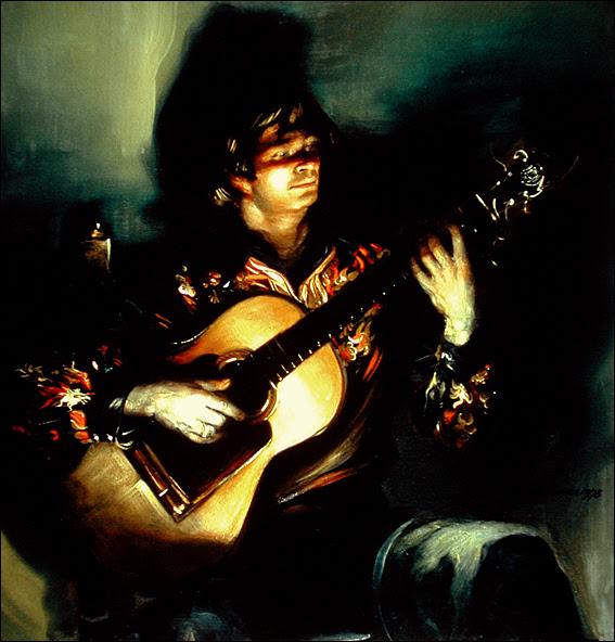 El Leton, Flamenco Guitarist