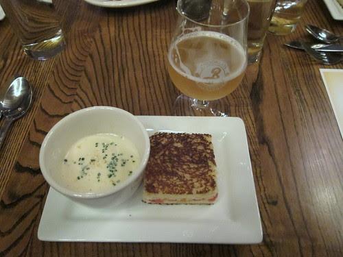 Brooklyn Brewery Beer Dinner at Haute Dish