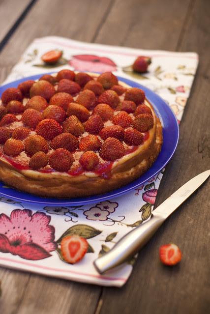 Maasika-juustukook / Strawberry cheesecake