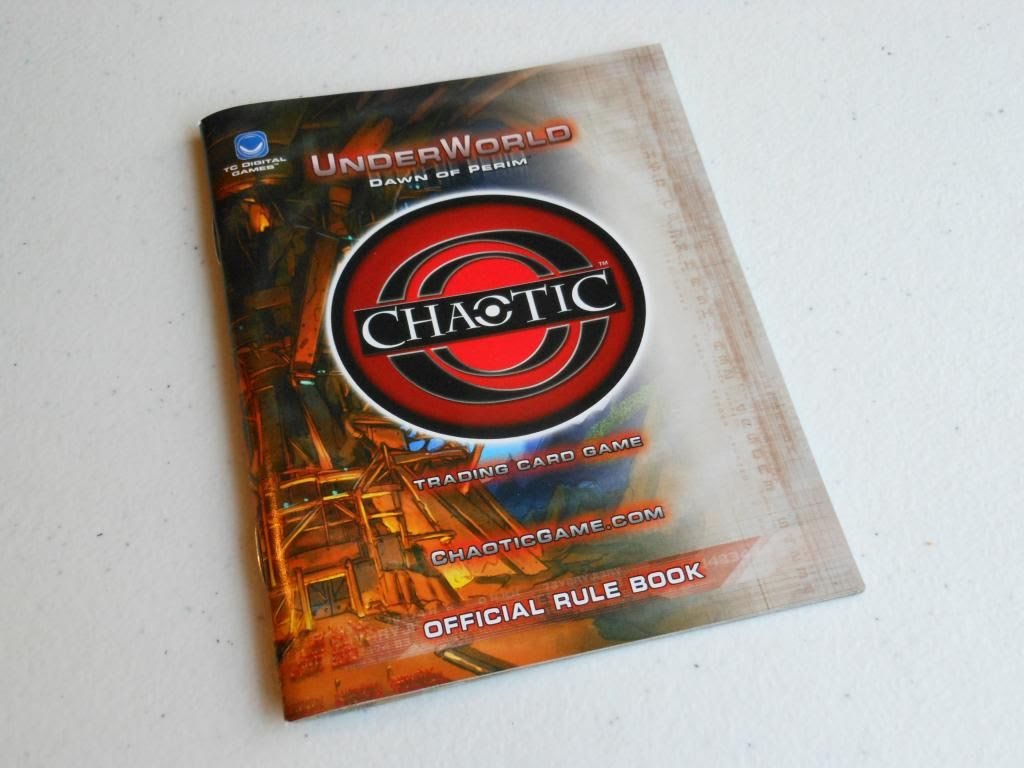 Chaotic rule book