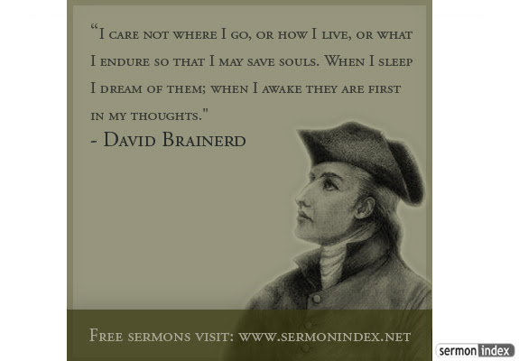 Image result for david brainerd quotes