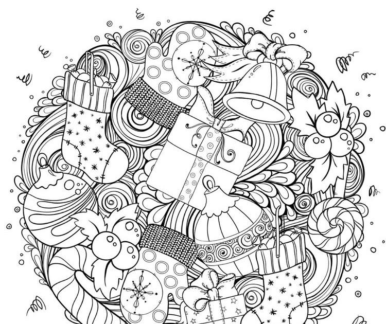 ausmalbilder weihnachten mandala weihnachten erwachsene
