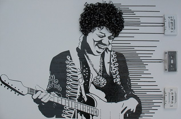 The Hendrix Experience: Jimi Hendrix was known for his psychedelic rock music