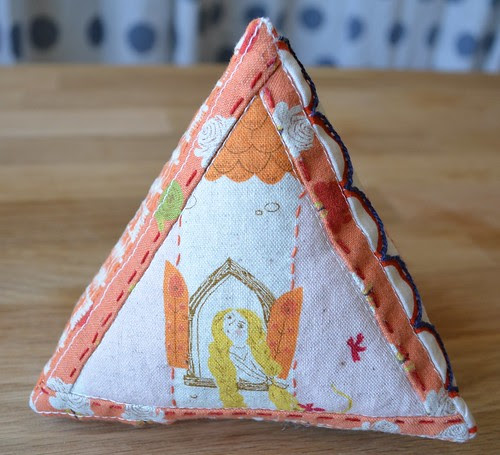 Triangle Prism Pincushion
