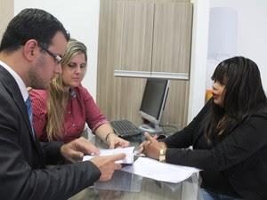 Dois advogados estão no caso para defender Calincka (Foto: Juliane Peixinho / G1)