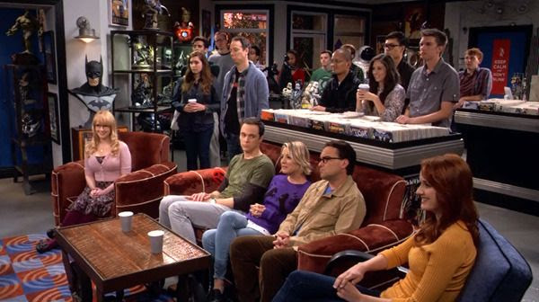 A screenshot from THE BIG BANG THEORY - Episode 9.4: 'The 2003 Approximation' (Original Air Date: October 12, 2015).