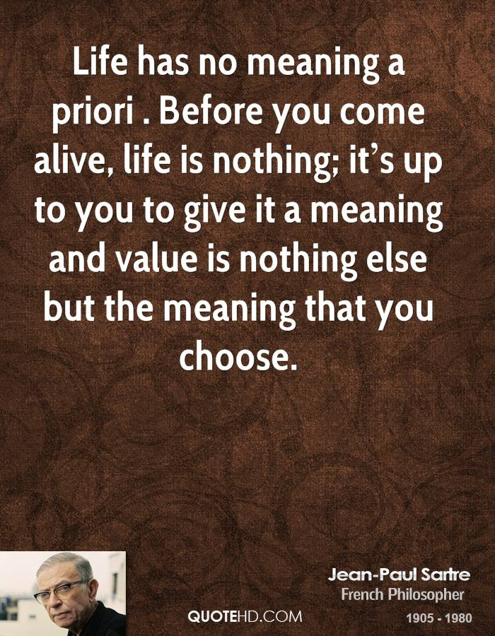 Life Has No Meaning Quotes. QuotesGram
