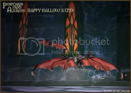 Postcards of Azeroth: Happy Hallow's End, by Rioriel Ail'thera