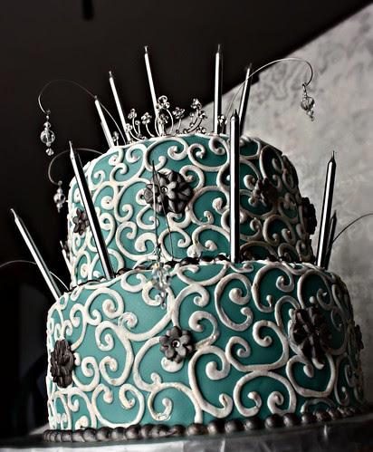 """""""Mademoiselle"""" Cake"""