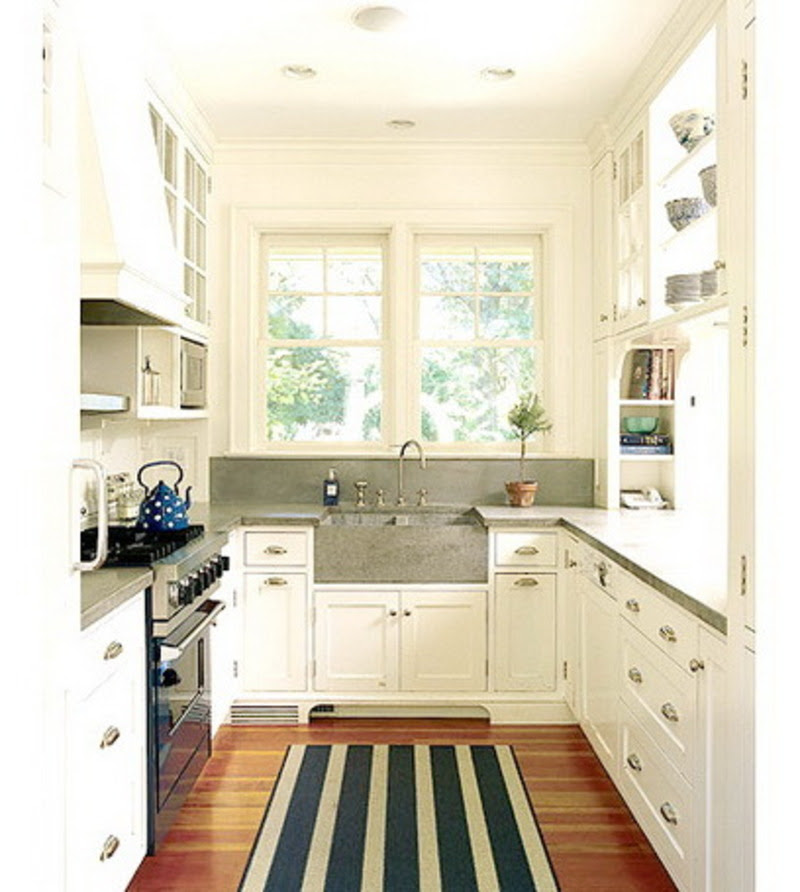 Small Galley Kitchen Design Ideas: Galley Kitchen Designs For Small Spaces Trend Home
