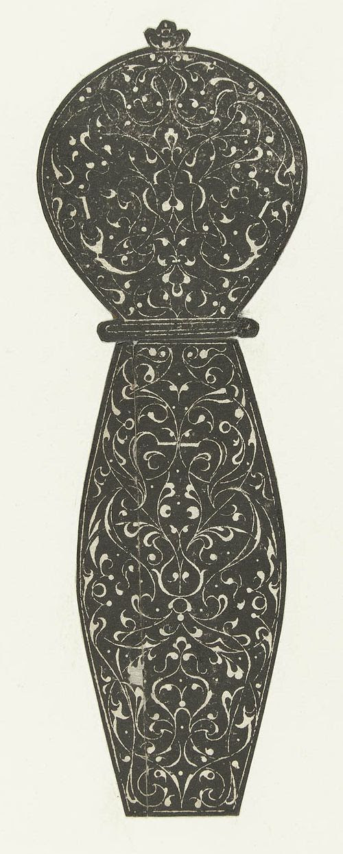 16th century arabesque hilt design