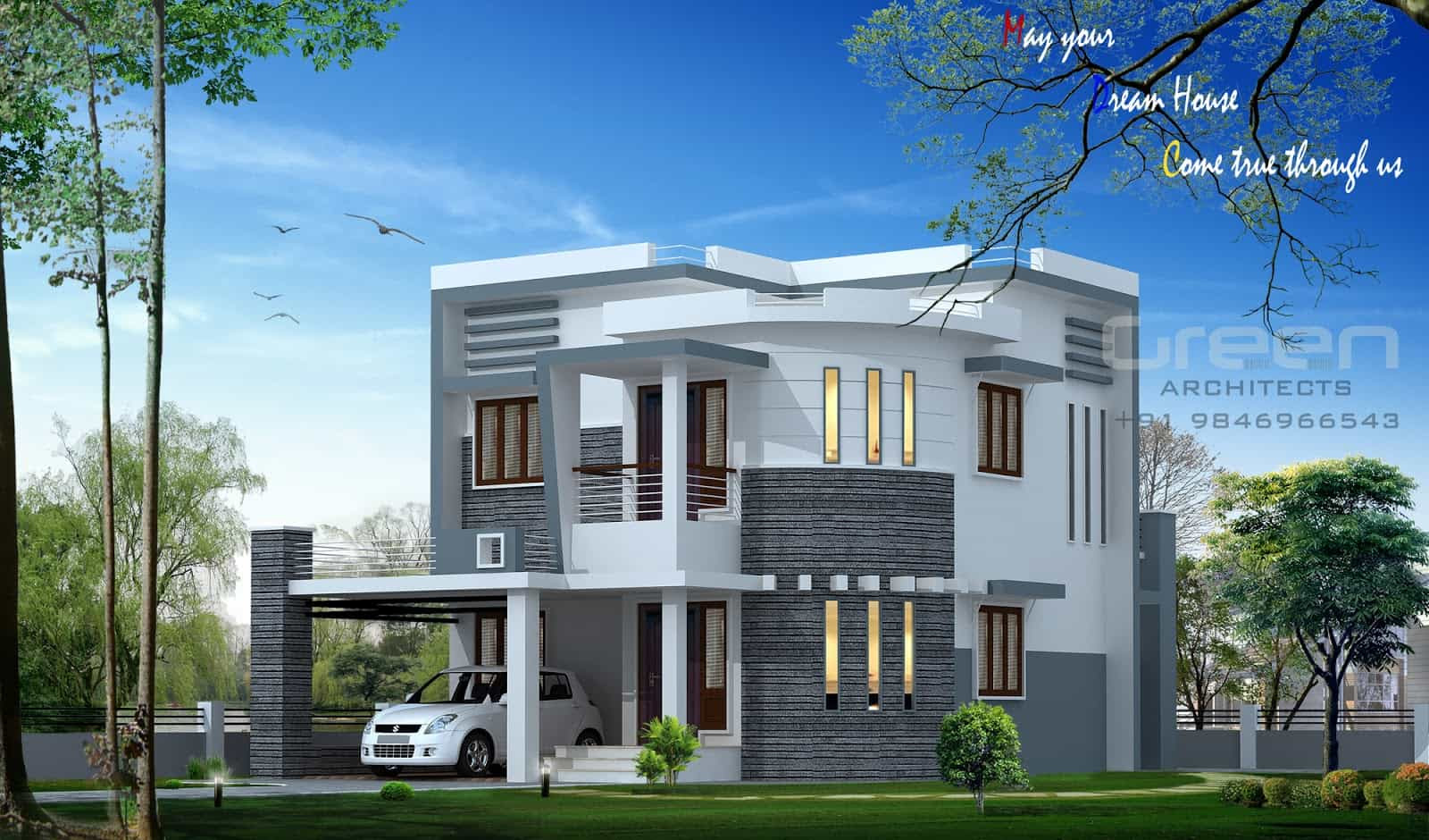 Kerala House Plans And Elevations Keralahouseplannercom