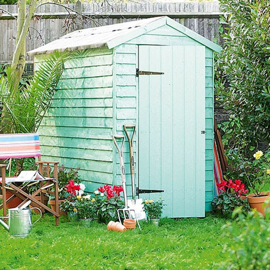 Overlap Shed from Homebase | Buyer's guide to sheds and summerhouses | Garden ideas | PHOTO GALLERY | Ideal Home