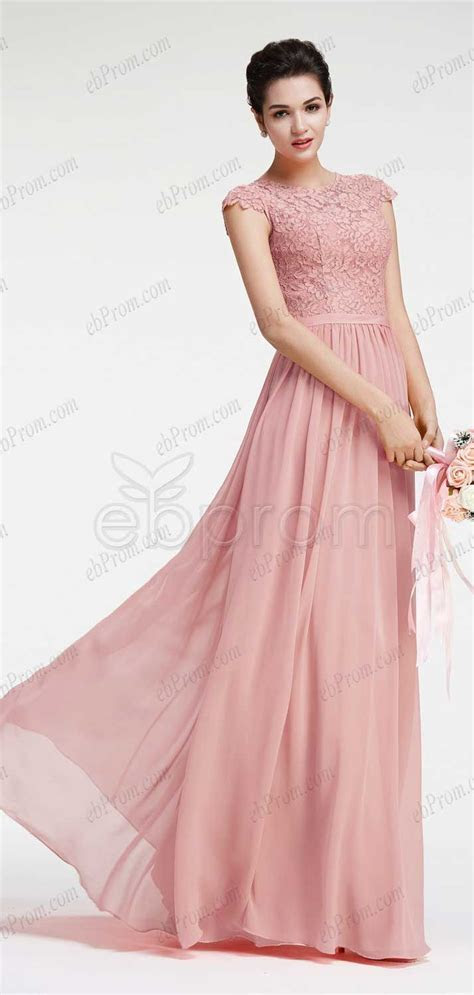 Dusty pink bridesmaid dresses with cap sleeves   Future