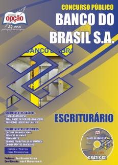Apostila para o cargo de Escriturário - Concurso Banco do Brasil