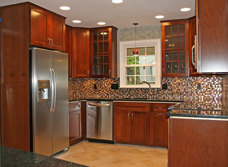 Great Kitchen Backsplash Ideas with Cherry Cabinets 750 x 550 · 117 kB · jpeg