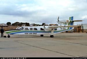 Sierra Leone Airways Britten-Norman  Trislander in 1982