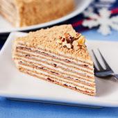 wielowarstwowy tort korzenny