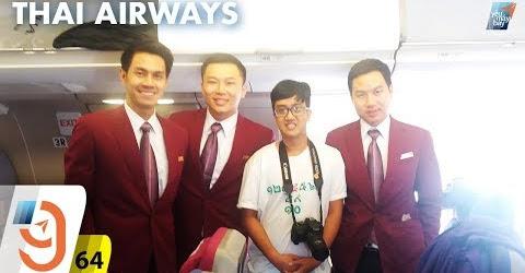 [M9] #64: Bay hãng 4 sao Thai Airways & kiosk check-in sân bay Suvarnabhumi | Yêu Máy Bay
