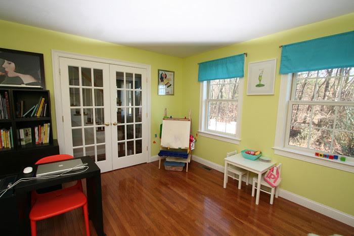Playroom art corner