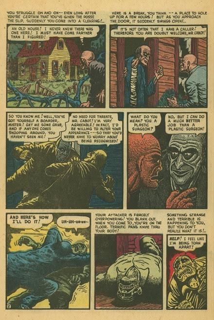 Basil Wolverton Swamp Monster Weird Mysteries 5 02