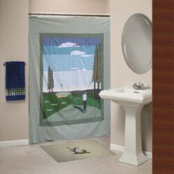 Jacaranda Living Dragonfly Classic Shower Curtain | Wayfair