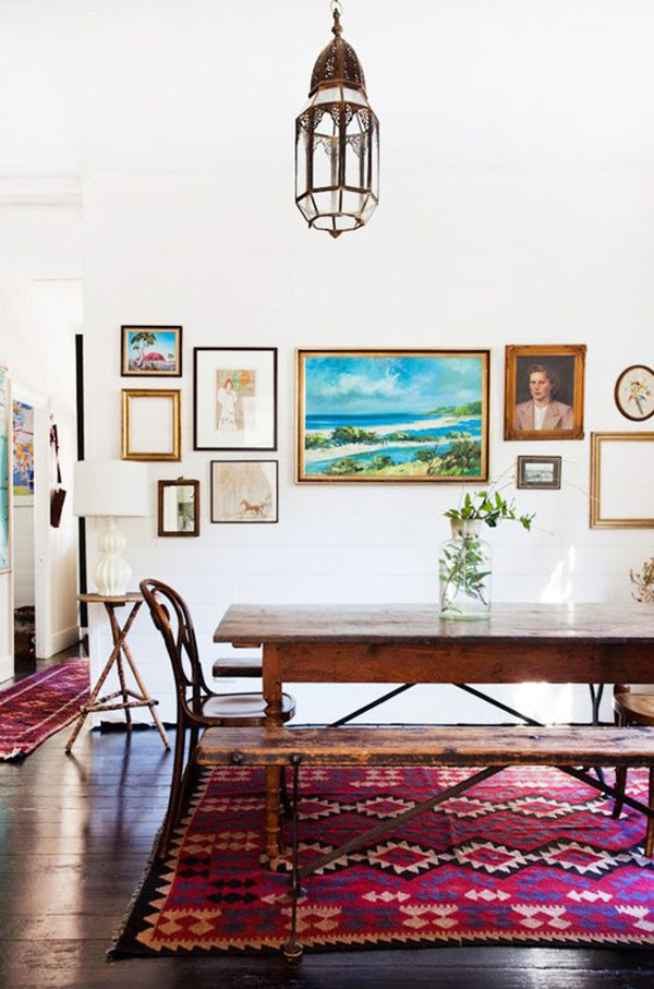 25 Modern Dining Room Gallery Wall Ideas | HomeMydesign