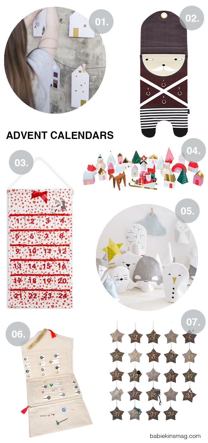 Babiekins Favorite Christmas Advent Calendars | Babiekins Magazine
