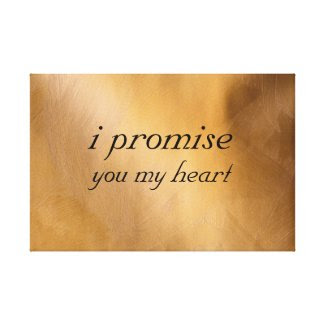 I Promise You My Heart