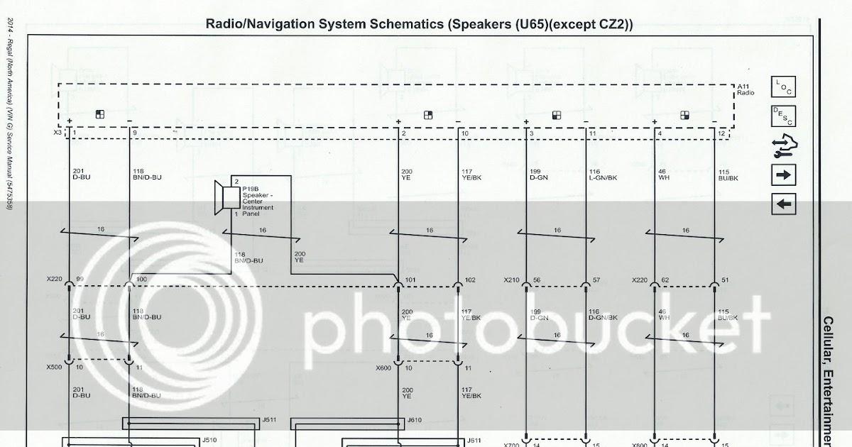 Regal Monsoon Rear Speaker Wire Diagram