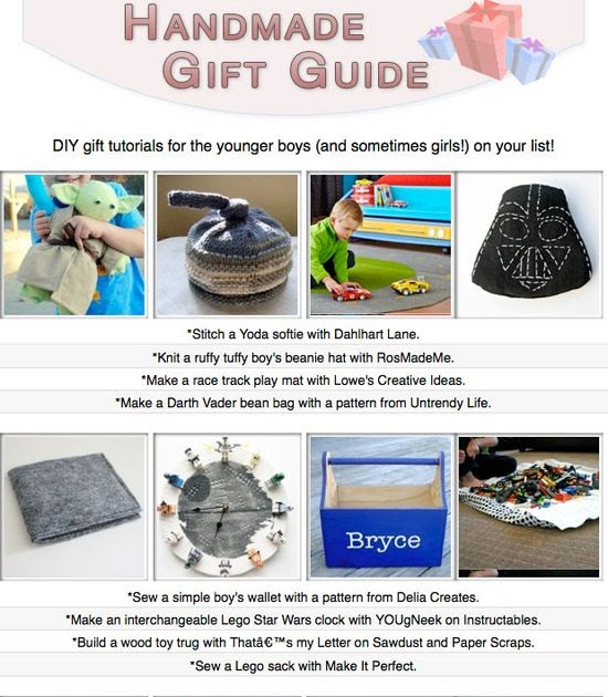 My doityourself gift ideas 16 diy gift tutorials you can for Gift ideas you can make