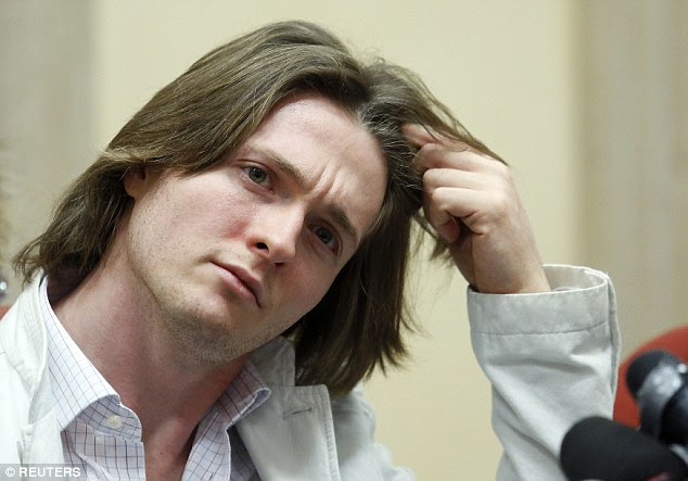 Sollecito told a press conference last summer that there were 'anomalies' in his former lover Knox's story